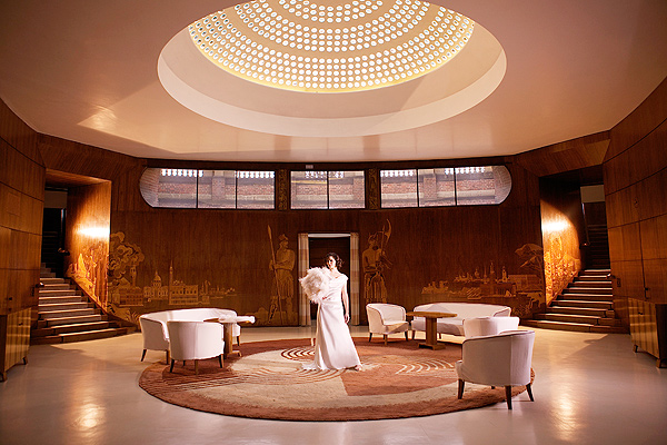 Art Deco Bridal At Eltham Palace 187 Sarah Gawler