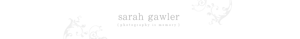 Sarah Gawler Photography London logo