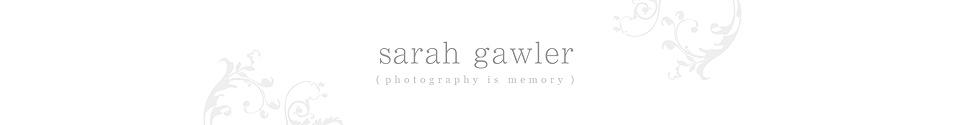 Sarah Gawler Photography London logo